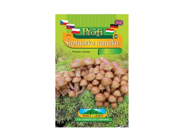 Šupinovka nameko (Pholiota nameko) Šupinovka nameko je dřevokazná houba původem z oblasti Jihovýchodní Asie hojně pěstovaná v Číně