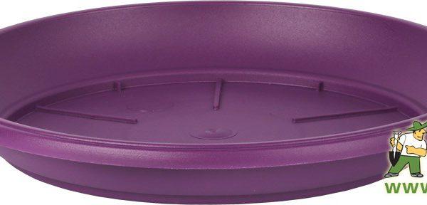 Miska Similcotto 25 cm fialová Popis:Miska pod květináč v barvě fialové