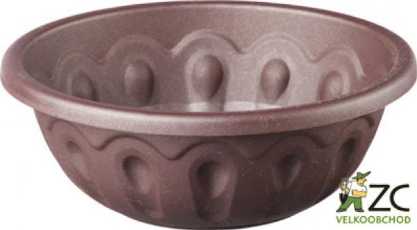 Žardina Lea 30 cm čokoládová Popis:Plastová žardina s vrchním průměrem 30 cm