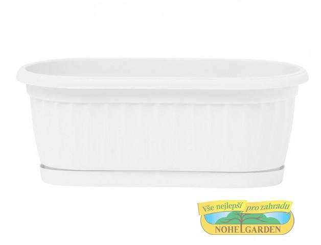 Truhlík Similcotto Mini 22 cm bílý Popis:Plastový mini truhlík s dezénem a miskou v barvě bíléMateriál:plastBarva:bíláRozměry:délka: 22 cmšířka: 11