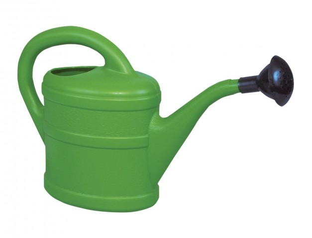 Konvička 1L s kropítkem zelená Plastová konev pro zalévání pokojových a balkónových květin. S kropítkem. Dodáváme v barvě oranžové