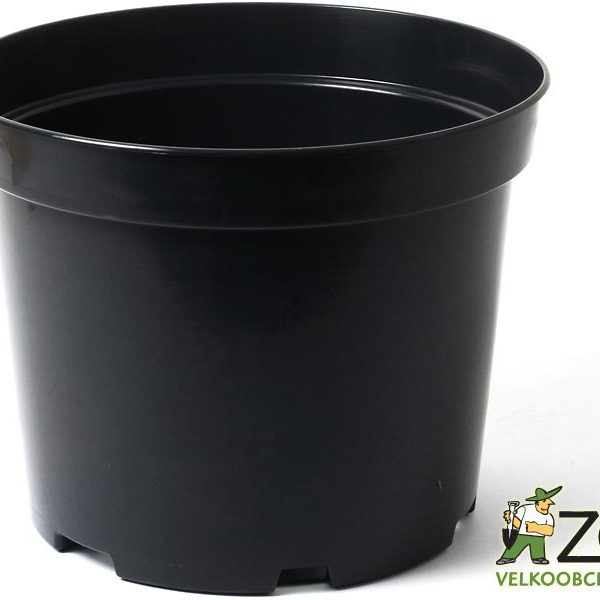 Kontejner 18 cm černý 2
