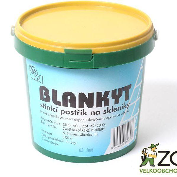 Barva stínící - blankyt modrá 500 g Popis a použití:Blankyt je stínící postřik na skleníky