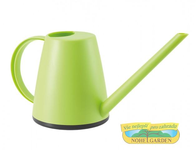 Konvička GARDEN CLUB světle zelená 1l Plastová konvička z polystyrenu s hladkým