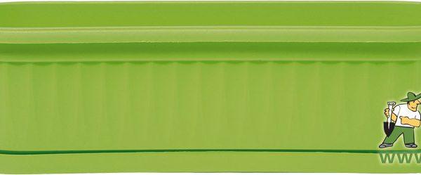 Truhlík Similcotto Mini 32 cm zelený Popis:Plastový mini truhlík s dezénem a miskou v zelené barvě.Materiál:plastBarva:zelenáRozměry:délka: 32 cmšířka: 11