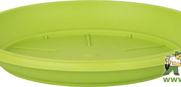 Miska Similcotto 25 cm zelená Popis:Miska pod květináč v barvě zelené