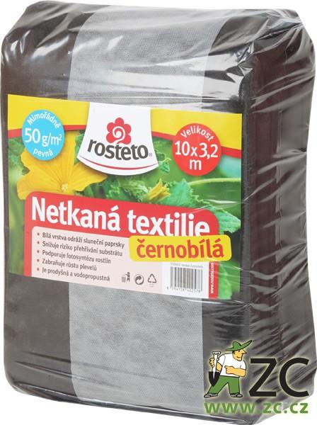 Neotex - černobílý 50g šíře 10 x 3