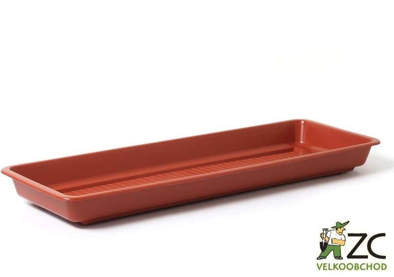 Miska pod truhlík Garden/Pelargonie 50 cm teracota Popis:Plastová miska na vodu pod květinový truhlík GARDEN.Materiál:plastBarva:teracotaRozměry:délka: 50 cmšířka: 14