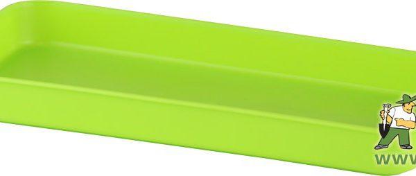 Miska pod truhlík malý 20 cm hráškově zelená Miska vhodná pod truhlík malý 500079
