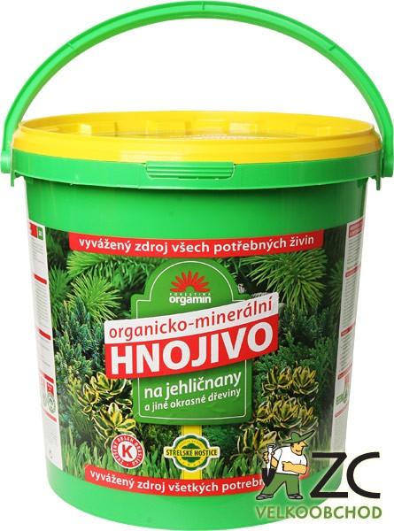 Hnojivo na JEHLIČNANY a OKRASNÉ DŘEVINY 10kg složení: N 6 %