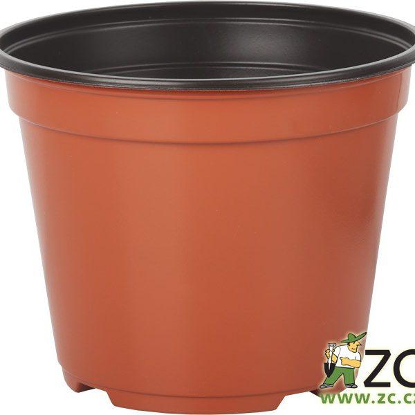 Kontejner Arca 19 cm teracota 3 l Popis:Speciální kulatý plastový kontejner je určený pro výsadbu a pěstování rostlin. Je tenkostěnný