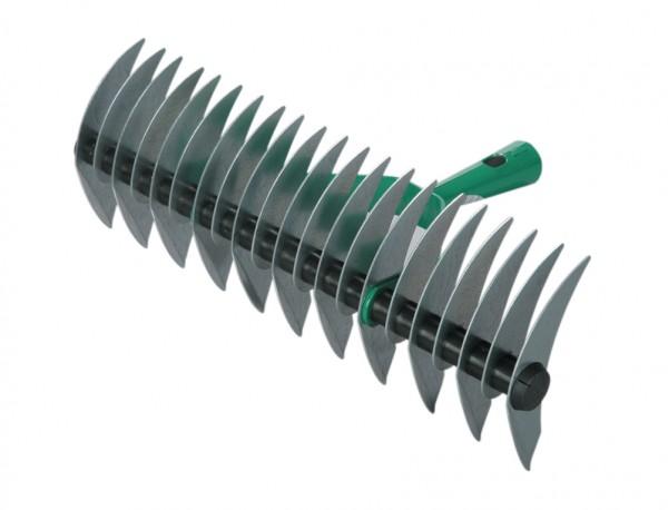 Prořezávač trávy Travní provzdušňovač - oboustrannýšířka : 38 cmpočet trnů : 21barva: zelená