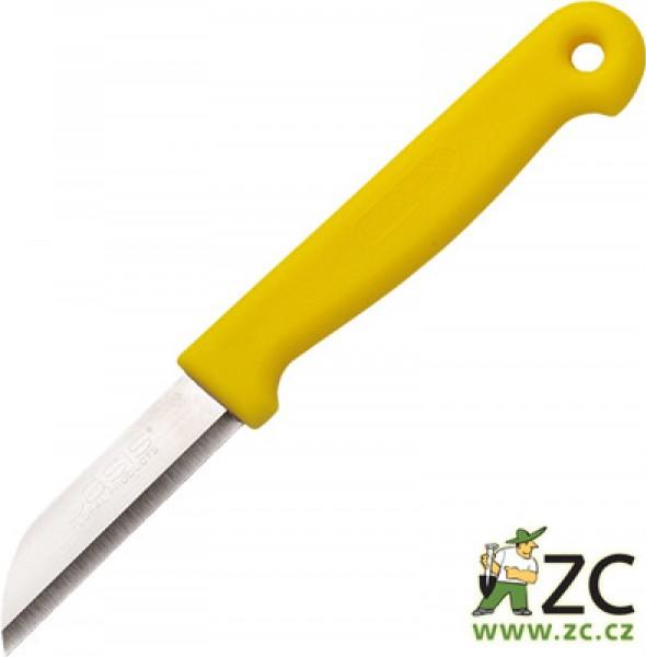 Nůž - floristický oasis Popis:Floristický nůž Oasis s kvalitním ostřím. Rozměr:délka nože: 16 cm délka čepele: 6 cm šířka čepele: 1