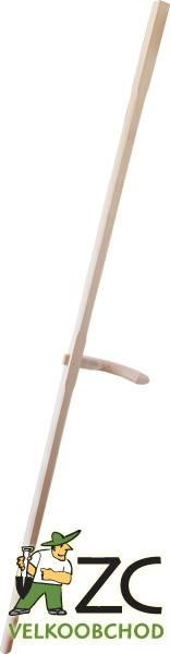 Kosiště jednoručkové Popis:Dřevěné jednoručkové kosiště.Rozměr:Délka: 160 cm