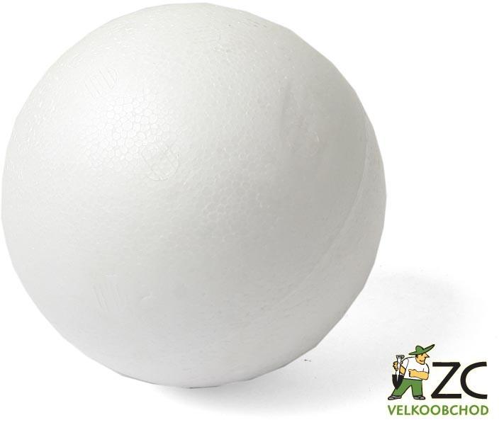 Koule polystyren - 12 cm Popis:Polystyrénová koule vhodná k aranžování.Rozměr:Průměr: 12 cm
