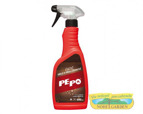 Čistič grilů Pepo 500ml Jedná se o vysoce účinný prostředek na čištění a odmašťování krbových skel