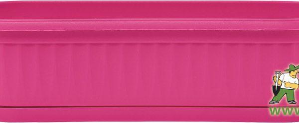 Truhlík Similcotto Mini 32 cm tmavě růžový Popis:Plastový mini truhlík s dezénem a miskou v barvě fuchsia.Materiál:plastBarva:tmavě růžováRozměry:délka: 32 cmšířka: 11