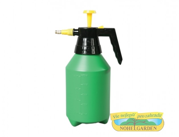 Rozprašovač tlakový GARDENIA 1500ml Rozpračovač ruční tlakový- barva:zelenožlutá- objem:1500ml