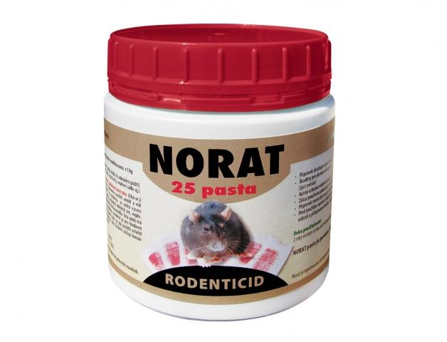 Norat 25 pasta 150 g Účinná látka: brodifacoum 0