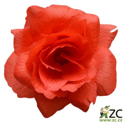 Růže látková červená 24 ks Popis:Kvalitní látkové květy na venkovní i vnitřní vazbu pro výrobu smutečních věnců a kytic. Odolné vůči vodě i slunci. Vazbové růže jsou umělé květiny vyrobené z látky