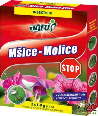 Mšice - Molice Stop 2x1