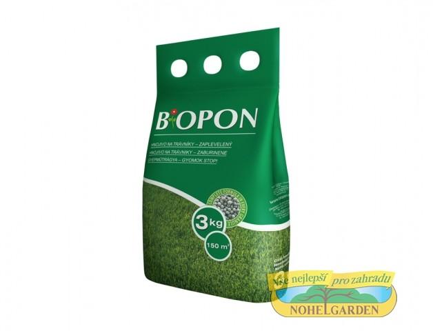 Bopon - trávníkové hnojivo proti plevelům 3 kg složení: N 7 %