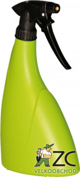 Rozprašovač Sprit - 1 l zelený Popis:Plastový mechanický rozprašovač určený do bytových prostor. Materiál:plast Barva:zelená Objem:1 l