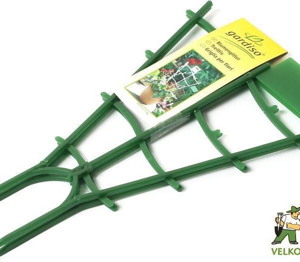 Mřížka zvlněná - 20 cm 2ks Popis:Podpůrná plastová mřížka k vyvázání květin a rostlin v květináčích. Baleno po 2 ks.Materiál:plastBarva:zelenáRozměry:délka: 20 cm