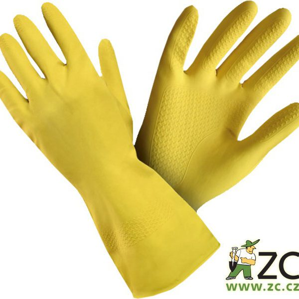 Rukavice technické s eurozávěsem - Nina vel.9 (L) Popis:Ochranné pracovní rukavice kategorie I. z kvalitního latexu. Jsou určeny pro minimální rizika. Poskytují účinnou ochranu rukou při běžných činnostech v domácnosti