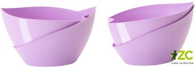 Květináč samozavlažovací Doppio 14 cm fialový Popis:Originální typ samozavlažovacího květináče