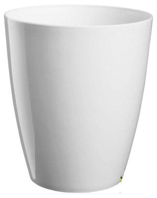Obal Orchid Ornella 13 cm bílý Popis:Dekorativní květináč navržený speciálně pro orchideje