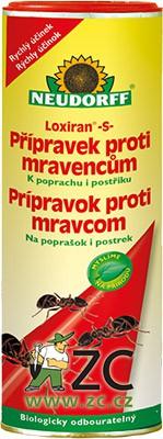 Loxiran Neudorff - mravenci 300 g Účinná látka: pyrethrin 1