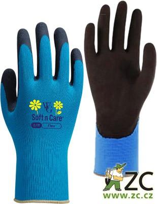 Rukavice Flora modré vel.7/S Popis:Rukavice Flora jsou jemné a přitom pevné pracovní rukavice