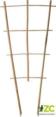 Mřížka bambus S3 - 45x12x120 cm Bambusová mřížka sloužící jako podpěra k rostlinám.Popis:Podpůrná dekorativní mřížka z čistě přírodního materiálu