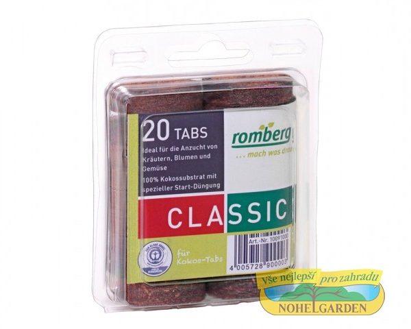 Tableta kokosová 36 mm 20ks Kokosové tablety jsou ideálním pomocníkem při pěstování květin