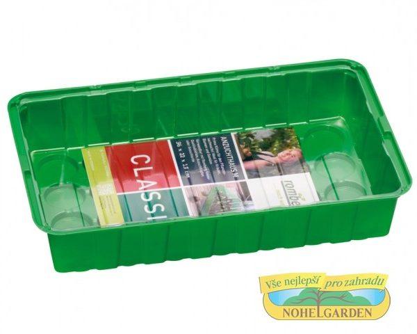 Minipařeniště M 36x22x13cm Minipařeniště poskytuje optimální podmínky pro pěstování rostlin - zeleniny