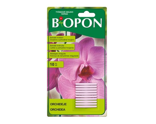Tyčinky - Bopon orchideje 10ks složení: N 8 %
