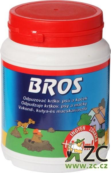 Bros - odpuzovač krtků