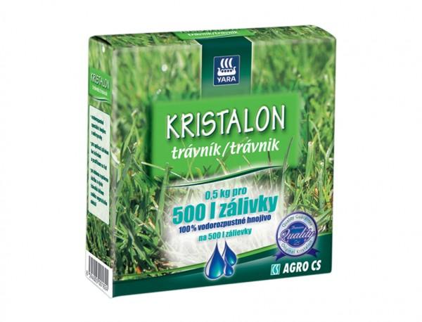 Kristalon hnojivo na TRÁVNÍK 500g Složení: dusík - fosfor – draslík: 20 - 8 - 8 + 2% hořčíku. Obsahuje mikroprvky B