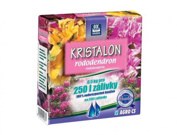 Kristalon hnojivo na RODODENDRONY 500g Složení: dusík - fosfor – draslík: 20 -5 - 10 + 2% hořčíku. Obsahuje mikroprvky B