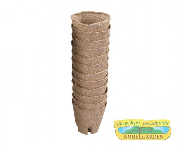 Květináč rašelinový se zářezy - průměr 6 cm