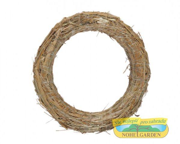 Slaměný kruh průměr 50 cm Popis:Slaměný kroužek pro výrobu věnců.Rozměr:Vnější průměr: 50 cmVnitřní průměr: 32 cm