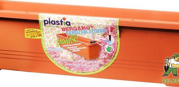 Truhlík samozavlažovací Bergamot 60 cm teracota Popis:Samozavlažovací truhlík Bergamot má samozavlažovací systém