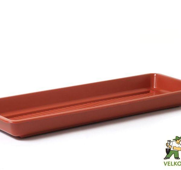 Miska pod truhlík Garden/Pelargonie 60 cm teracota Popis:Plastová miska na vodu pod květinový truhlík GARDEN.Materiál:plastBarva:teracotaRozměry:délka: 60 cmšířka: 14