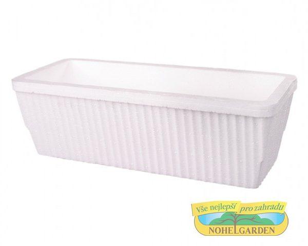 Truhlík polystyren - velký Popis:Polystyrénový truhlík se využívá pro pěstování rostlin v chladnějším období roku.Rozměr:Délka: 41