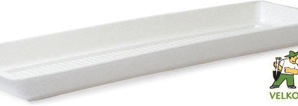 Miska pod truhlík Garden/Pelargonie 60 cm granit Popis:Plastová miska na vodu pod květinový truhlík GARDEN.Materiál:plastBarva:granitRozměry:délka: 60 cmšířka: 14