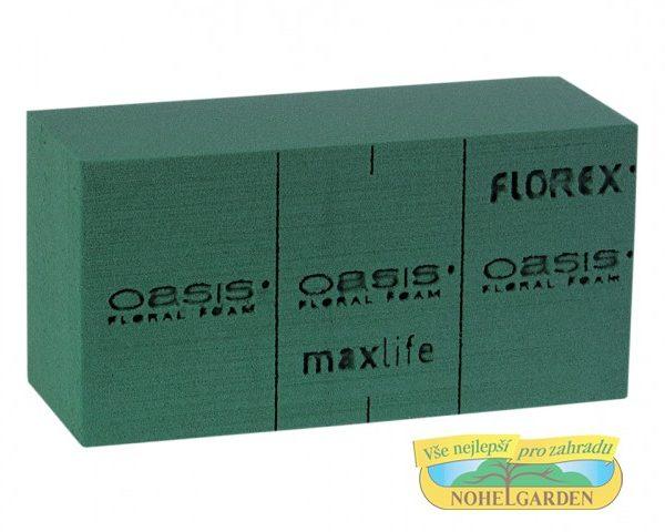 Cihla Oasis FLOREX zelená Popis:Aranžovací hmota vysoké kvality pro živé rostliny. Z důvodu možného poškození prodáváme florex pouze po celých krabicích.Rozměr:délka: 20 cm šířka: 10 cm výška: 7