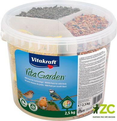 Směs pro venkovní ptactvo Mix-pack kbelík - 2