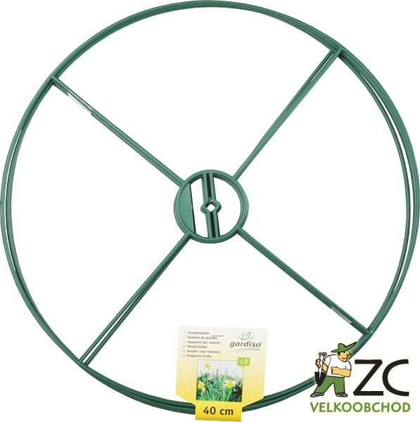 Kruhy Vario 3 ks - pevné pr.40 cm Popis:Podpůrné kruhy pro rostliny. Kruh zabraňuje lámání vyšších květin. Balení obsahuje 3 ks.Materiál:plastBarva:zelenáRozměry:průměr: 40 cm