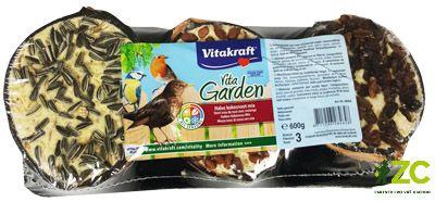 Kokosový ořech mix 3 ks folie (3x1/2) Vita Garden Popis produktuDoplňkové krmivo pro zahradní ptactvo.Popis:Doplňkové krmivo pro zahradní ptactvo. Kokosy VITA GARDEN® jsou bohaté na tuky